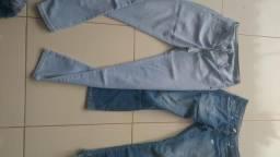 Lote de jeans para bazar