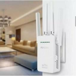Repetidor/ roteador Wi-fi com 4 antenas