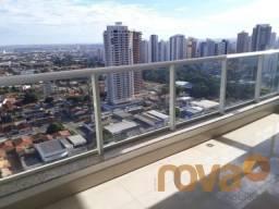 Apartamento à venda com 3 dormitórios em Setor bueno, Goiânia cod:NOV87661