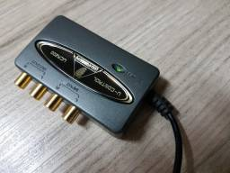 Interface De Áudio Usb Behrinher Uca200