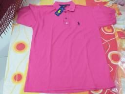 Camisa Ralph Lauren G rosa