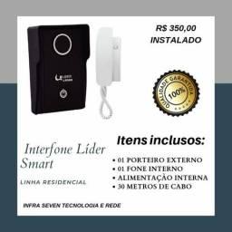 Interfone e vídeo porteiro