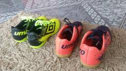 Chuteiras UMBRO society e futsal! c3d220bb0255b