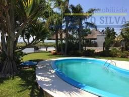 Barranca do Rio. 4 quartos, deck, rampa, rio natural, piscina, paisagismo.R$-1.950-Mil