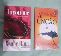Livros Tocou-me e A unção