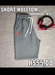 Shorts Moletom- Á vista ou no cartão- Fazemos entrega