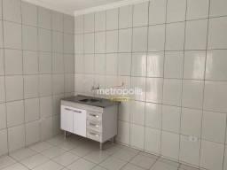 Casa com 1 dormitório para alugar, 30 m² por R$ 800,00/mês - Osvaldo Cruz - São Caetano do