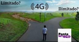 Internet 4g ilimitada durante 30 dias por 10,00