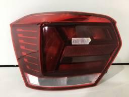 Lanterna Esquerda Volkswagen Novo Polo Hatch 2018 2019 2020 Original