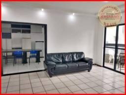 Apartamento com 3 dormitórios à venda, 120 m² por R$ 380.000,00 - Vila Guilhermina - Praia