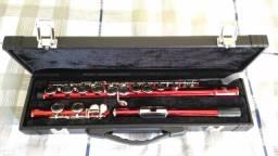 Flauta Transversal Slade Concerto Ocidental - Dó
