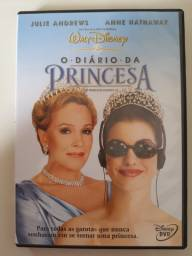 Combo: livro + DVD Diário da Princesa