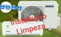 Instalação de ar condicionado - limpeza
