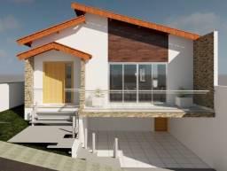 C444 - Casa semi nova com acabamento de qualidade