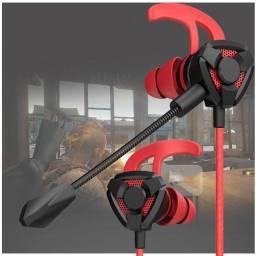Fone de ouvido gamer para celular com microfone