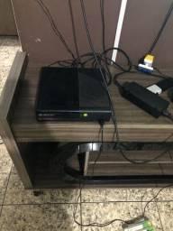 Xbox 360 slim com kinect e vários jogos