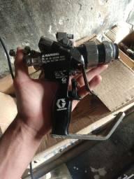 Pistola de pintura industrial