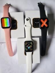 Relógio Smartwatch Iwo W26 Original Bluetooth Tela Infinita