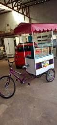 Food Bike, Carrinho de Açaí e Hot dog