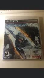 Título do anúncio: Metal Gear Rising PlayStation 3 ps3 mídia física lacrado
