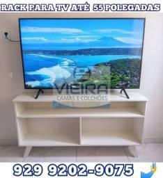 Título do anúncio:  Rack 100% MDF simples e porta  para tv até 55 polegadas ###$