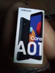 Samsung core 01 novo com nota fiscal e garantia