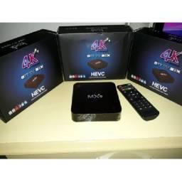 Tv box 4g com 64