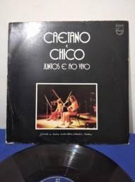 LP Caetano e Chico Juntos e Ao Vivo - 1972