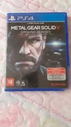 Jogo Metal Gear Solid V ps 4