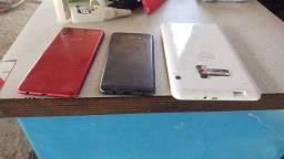 Título do anúncio: Vendo dois celulares em um tablet