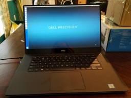 Dell Precision 5520 4k Touch - 32gb - I7 Nvme e Nvidia Quadro 4gb