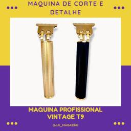 Título do anúncio: Máquina de cortar cabelo e barba Vintage T9