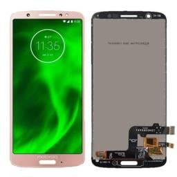 Combo Tela Display Touch Motorola G6 G7 G8 G6 Plus G8 Play e ais venha ja