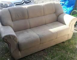 Sofa 3 lugares 300 entrego