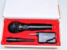 Microfone sem Fio Profissional Pastor Igreja karaokê Palestra