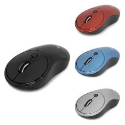 Mouse Sem Fio pratico click suave design moderno