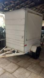 Mini trailer food truck