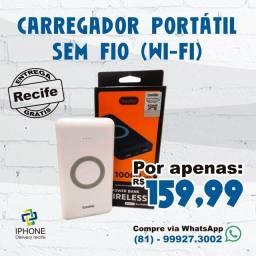 Título do anúncio: Carregador Portátil Sem Fio (Wi-Fi) (Entrega Grátis)