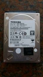 Título do anúncio: HD Notebook Toshiba 500GB