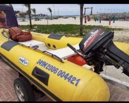 Título do anúncio: Vendo Bote inflável