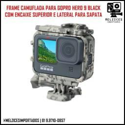 Frame Camuflada para GoPro Hero 9 Black