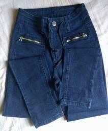 Título do anúncio: Calça Skinny e macacão jeans