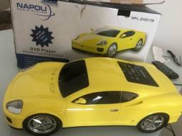 DVD Napoli em formato de Ferrari