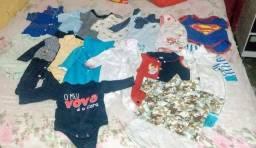 Lote para bebê menino