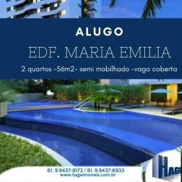 Alugo 59 m²/ 2 quartos/ Boa Viagem / área de lazer/ /armários