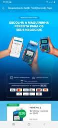 Título do anúncio: Maquininha Point Pro 2 Mercado Pago (com impressão)