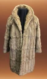 Casaco de Pele Polo Norte Longo usado