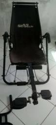 Cadeira abdominal stretch.