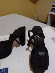 Sapato salto auto , n 37 cor preto