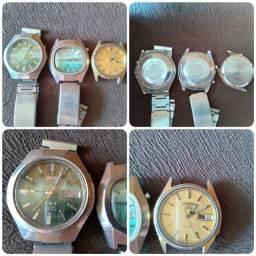 Relógios antigos vintage, para colecionador. Ler descrição.